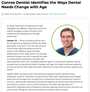 Dr. Stanworth explains how teeth change as we get older and which dental treatments can address growing concerns.